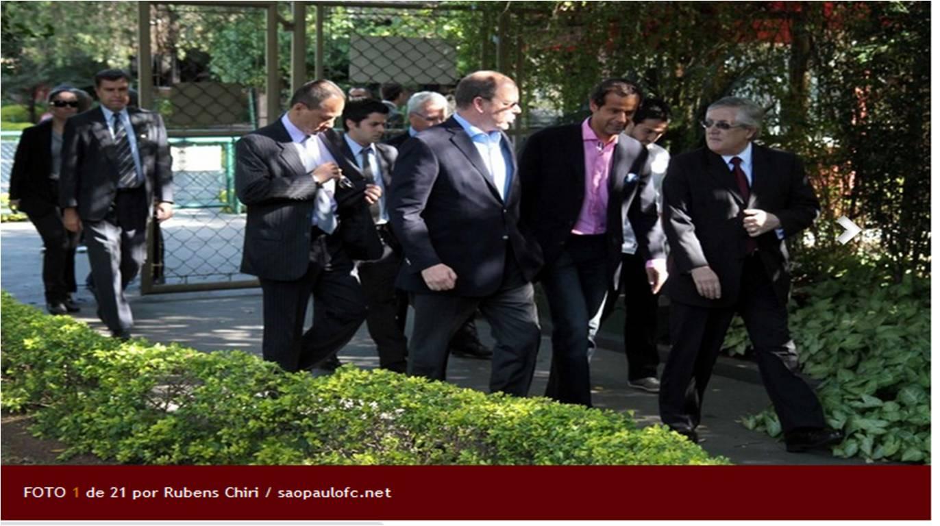 Missão Mônaco - Visita do Príncipe Albert II