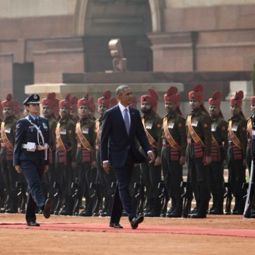 US-Obama-India-State-Visit-military