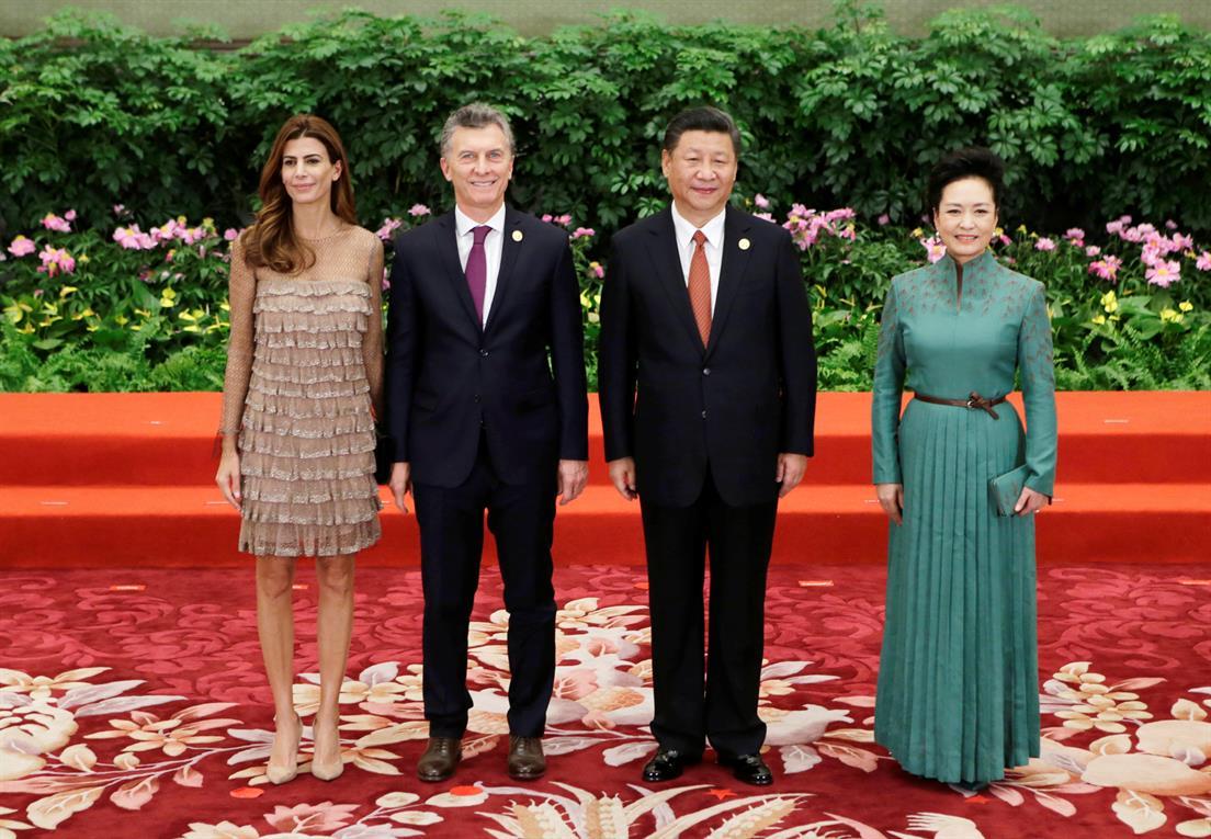 Argentina-Juliana-Awada-China